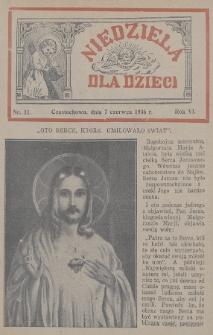 Niedziela dla Dzieci. 1936, nr11