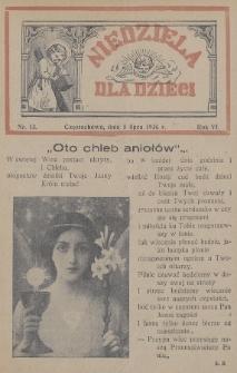Niedziela dla Dzieci. 1936, nr13