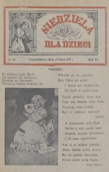 Niedziela dla Dzieci. 1936, nr14