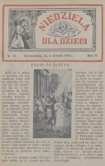 Niedziela dla Dzieci. 1936, nr15