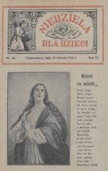 Niedziela dla Dzieci. 1936, nr16