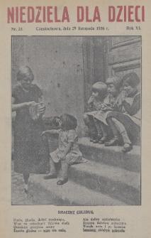 Niedziela dla Dzieci. 1936, nr23
