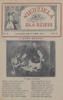 Niedziela dla Dzieci. 1936, nr25