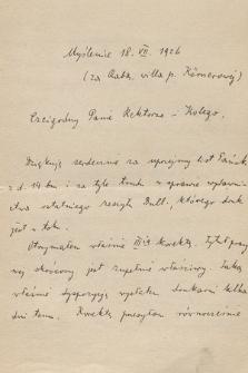 """Korespondencja Władysława Natansona z lat 1884-1937. T. 4, Dziewicki – """"Express Poranny"""""""