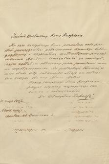 Korespondencja Władysława Natansona z lat 1884-1937. T. 19, Zahorski – Żórawski