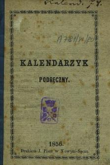 Kalendarzyk Podręczny na Rok 1856