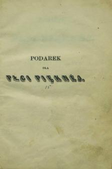 Podarek dla Płci Pięknéj : powieści i poezye wydane przez Karola Korwella, ozdobione rycinami. 1850, T.2 + wkładka