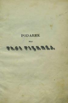 Podarek dla Płci Pięknéj : powieści i poezye wydane przez Karola Korwella, ozdobione rycinami. 1850, [T.3] + wkładka