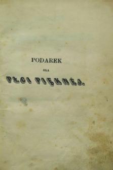 Podarek dla Płci Pięknéj : powieści i poezye wydane przez Karola Korwella, ozdobione rycinami. 1850, T.4