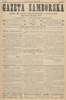 Gazeta Samborska : pismo poświęcone sprawom ekonomicznym i społecznym okręgu: Sambor, Stary Sambor, Turka. 1911, nr23