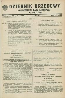 Dziennik Urzędowy Wojewódzkiej Rady Narodowej w Olsztynie. 1968, nr 14 (30 grudnia)