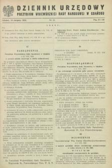 Dziennik Urzędowy Prezydium Wojewódzkiej Rady Narodowej w Gdańsku. 1950, nr 16 (16 sierpnia)