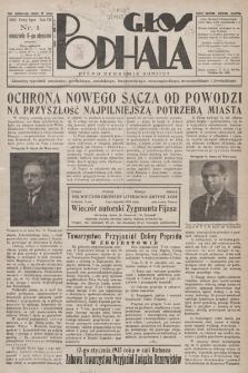 Głos Podhala : aktualny tygodnik powiatów: gorlickiego, jasielskiego, limanowskiego, nowosądeckiego, nowotarskiego i żywieckiego. 1935, nr 1