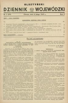 Olsztyński Dziennik Wojewódzki. R.5, nr 3 (5 lutego 1949) = nr (59)