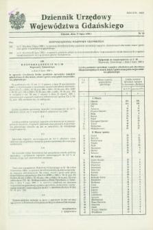 Dziennik Urzędowy Województwa Gdańskiego. 1990, nr 18 (27 lipca)