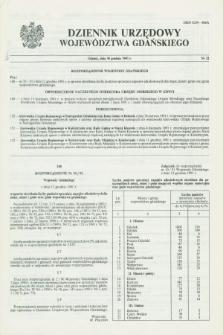 Dziennik Urzędowy Województwa Gdańskiego. 1991, nr 22 (30 grudnia)