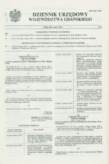 Dziennik Urzędowy Województwa Gdańskiego. 1992, nr 6 (4 marca)
