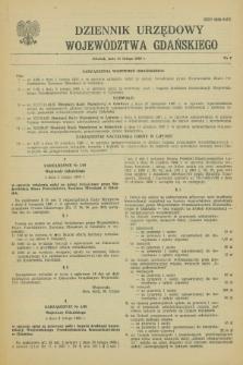 Dziennik Urzędowy Województwa Gdańskiego. 1988, nr 2 (15 lutego)