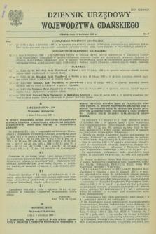 Dziennik Urzędowy Województwa Gdańskiego. 1988, nr 7 (15 kwietnia)