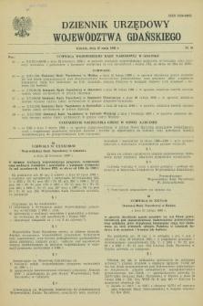 Dziennik Urzędowy Województwa Gdańskiego. 1988, nr 10 (27 maja)