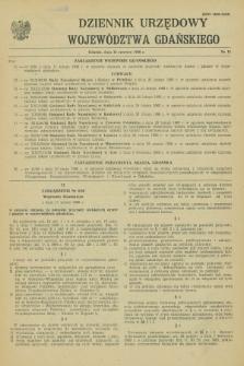 Dziennik Urzędowy Województwa Gdańskiego. 1988, nr 11 (16 czerwca)