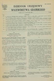 Dziennik Urzędowy Województwa Gdańskiego. 1988, nr 20 (17 października)