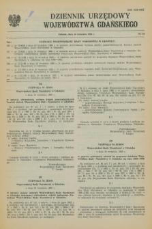 Dziennik Urzędowy Województwa Gdańskiego. 1988, nr 23 (16 listopada)