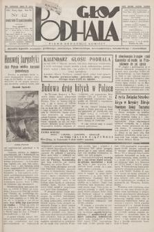 Głos Podhala : aktualny tygodnik powiatów: gorlickiego, jasielskiego, limanowskiego, nowosądeckiego, nowotarskiego i żywieckiego. 1935, nr 42