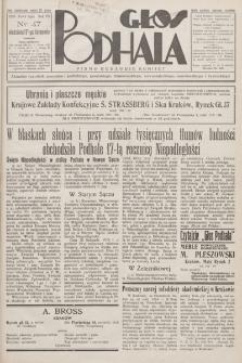 Głos Podhala : aktualny tygodnik powiatów: gorlickiego, jasielskiego, limanowskiego, nowosądeckiego, nowotarskiego i żywieckiego. 1935, nr 47