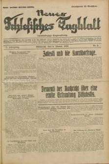 Neues Schlesisches Tagblatt : unabhängige Tageszeitung. Jg.2, Nr. 8 (9 Jänner 1929)