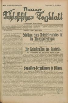 Neues Schlesisches Tagblatt : unabhängige Tageszeitung. Jg.2, Nr. 92 (6 April 1929)