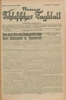 Neues Schlesisches Tagblatt : unabhängige Tageszeitung. Jg.2, Nr. 170 (27 Juni 1929)