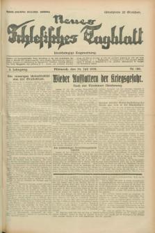 Neues Schlesisches Tagblatt : unabhängige Tageszeitung. Jg.2, Nr. 196 (24 Juli 1929)