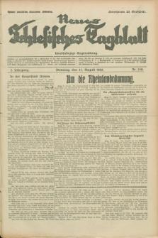 Neues Schlesisches Tagblatt : unabhängige Tageszeitung. Jg.2, Nr. 229 (27 August 1929)