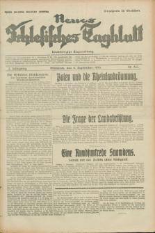 Neues Schlesisches Tagblatt : unabhängige Tageszeitung. Jg.2, Nr. 237 (4 September 1929)