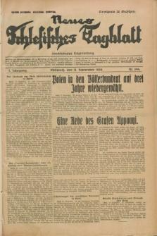 Neues Schlesisches Tagblatt : unabhängige Tageszeitung. Jg.2, Nr. 244 (11 September 1929)