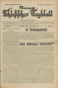 Neues Schlesisches Tagblatt : unabhängige Tageszeitung. Jg.2, Nr. 254 (21 September 1929)