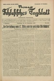 Neues Schlesisches Tagblatt : unabhängige Tageszeitung. Jg.2, Nr. 318 (26 November 1929)