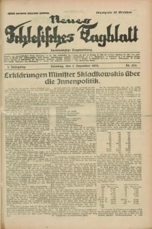 Neues Schlesisches Tagblatt : unabhängige Tageszeitung. Jg.2, Nr. 323 (1 Dezember 1929)