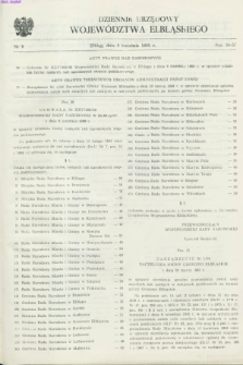 Dziennik Urzędowy Województwa Elbląskiego. 1988, nr 9 (6 kwietnia)