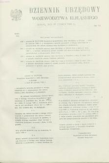 Dziennik Urzędowy Województwa Elbląskiego. 1988, nr 18 (28 czerwca)