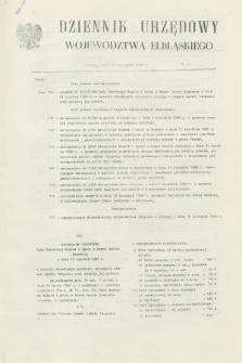 Dziennik Urzędowy Województwa Elbląskiego. 1988, nr 24 (14 listopada)