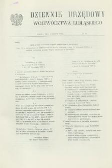 Dziennik Urzędowy Województwa Elbląskiego. 1988, nr 28 (2 grudnia)