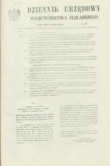 Dziennik Urzędowy Województwa Elbląskiego. 1988, nr 30 (15 grudnia)