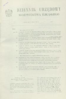 Dziennik Urzędowy Województwa Elbląskiego. 1989, nr 6 (14 marca)