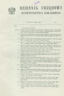 Dziennik Urzędowy Województwa Elbląskiego. 1989, nr 7 (15 marca)