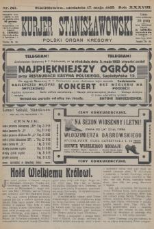 Kurjer Stanisławowski : polski organ kresowy. R.38 (1925), nr251