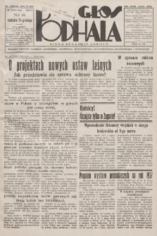 Głos Podhala : aktualny tygodnik powiatów: gorlickiego, jasielskiego, limanowskiego, nowosądeckiego, nowotarskiego i żywieckiego. 1937, nr 8