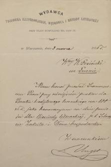Korespondencja Władysława Łozińskiego z lat 1861-1913. T. 16, Unger-Wrotnowska