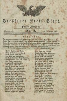 Breslauer Kreis-Blatt. Jg.5, No. 2 (13 Januar 1838)